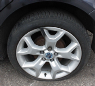 "GENUINE FORD KUGA ZETEC 17"" 5 STUD 5 Y SPOKE ALLOY WHEEL 205/50/17 2008 - 2016"